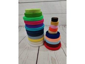 Pruženka půlená, sytě fialová 20 mm