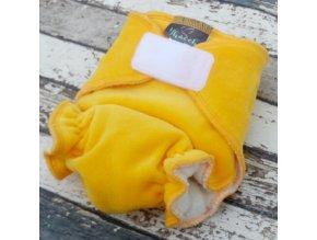 Novorozenecká plena Yháček, žlutý velur