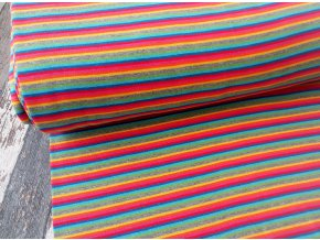 Náplet barevné proužky