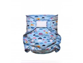 Kalhotková plena přebalovací set suchý zip, blue Sea 1000x1000