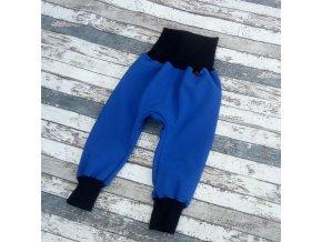 Softshellové kalhoty Yháček, zimní, královsky modrá