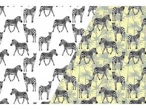 Úplet UV zebra