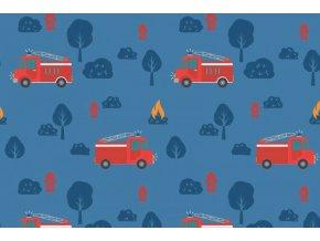 Úplet hasičské auta