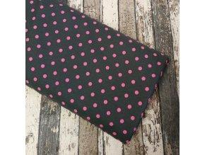 Kočárkovina, růžový puntík
