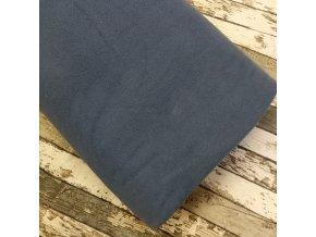 Micro fleece, temně modrý
