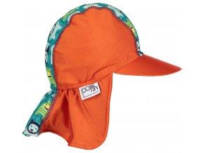 Pop in Peaked Sun Hat Herman Monster Side
