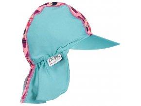 Pop in Peaked Sun Hat Kokeshi Doll Side3