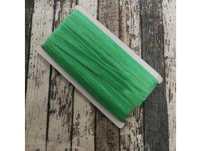 Pruženka půlená, neon zelená 20 mm