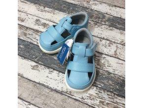 Boty Little blue lamb, Blue sandals
