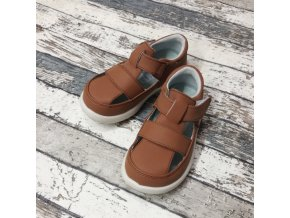 Boty Little blue lamb, Brown sandals