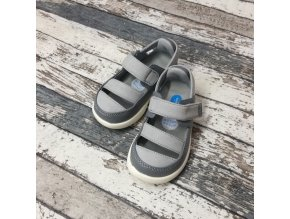 Boty Little blue lamb, Gray sandals