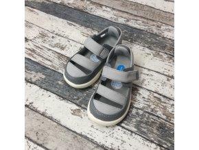 Boty Little blue lamb, Gray sandals