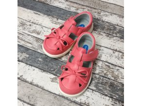 Boty Little blue lamb, Salmon sandals