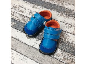 Boty Little blue lamb, Baby blue shoe