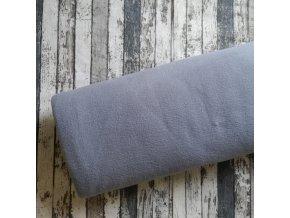 Fleece antipilling, šedý 061