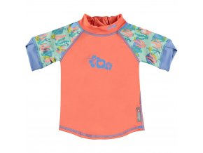 50122635 Pop in Rash Vest Short Sleeve Turtle Front 1000x1000