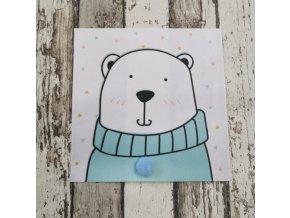 Nášivka, lední medvěd