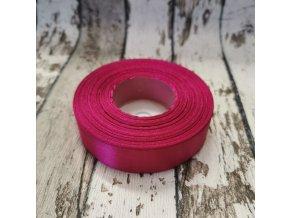 Stuha jednobarevná - sytě růžová