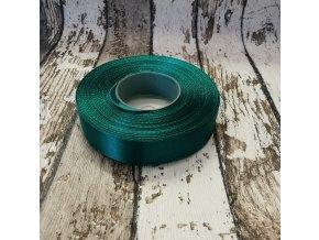 Stuha jednobarevná -tmavě zelená