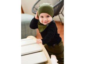 Rostoucí čepička Yháček, origami dinosauři