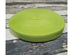 Pruženka půlená, zelené jablko, 19 mm