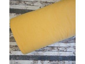 Fleece antipiling, 190 g, žloutkový, 446