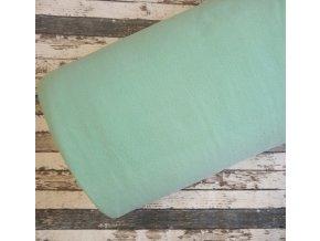 Fleece antipiling, 190 g, mentolový, 724