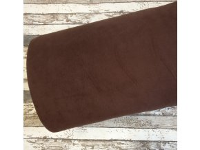 Fleece antipiling, 190 g, čokoláda, 879