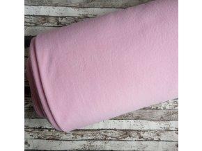 Fleece antipiling, 300 g, světle růžový, 90