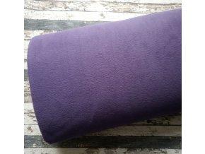 Fleece antipiling, 300 g, švestková, 524