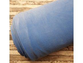 Kojenecký plyš, modrý, 603