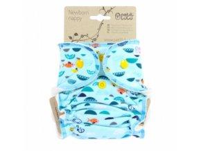 Kalhotková plenka na patentky Petit Lulu, V moři