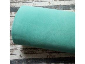 Fleece antipiling, 240 g, tmavší mentol, 595