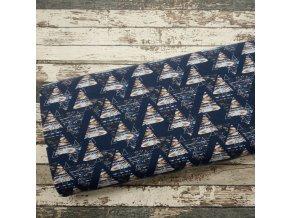 Teplakovina Etno trojúhelníky