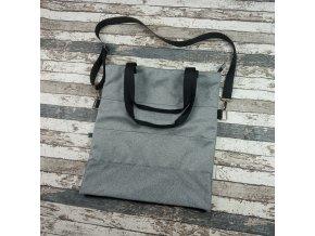 25469 softshellova kabelka cosy yhacek svetle sedy melir
