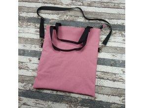 25487 softshellova kabelka cosy yhacek zihana ruzova