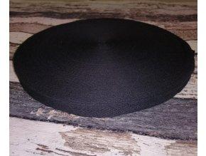 Keprovka, tkaloun, černá , 15 mm