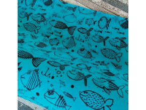 Teplákovina, Ryby na tmavém tyrkysu