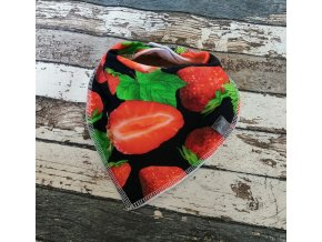 Slintáček s nákrčníkem Yháček, jahody
