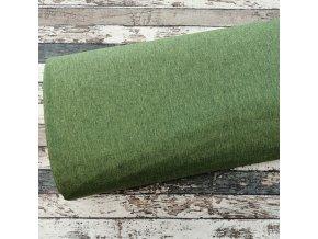 Softshell zimní žíhaný, zelený