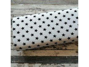 Teplákovina, hvězdy na bílé, 050