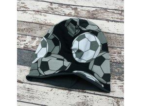 Šmoulí čepička Yháček, oboustranná, Fotbalové míče