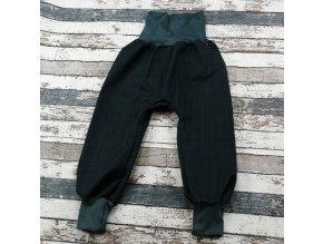 Softshellové kalhoty Yháček, podzim, temně šedá/antracit