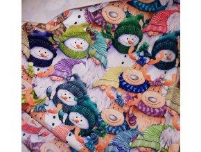 Úplet barevné vánoce