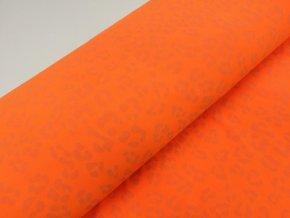 Softshell zimní, gepard oranžový, reflexní