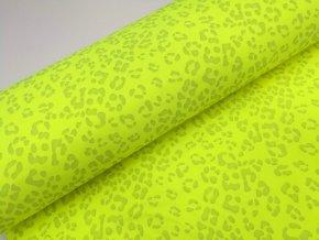 Softshell zimní, gepard žlutý, reflexní