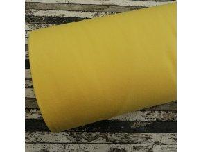 Fleece antipiling, 240 g, žlutý, 372