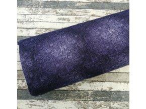 Úplet, flower power violet