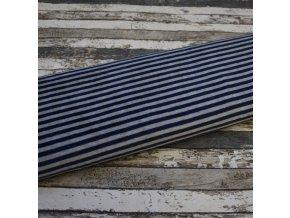 Kojenecký plyš, modrá/šedá