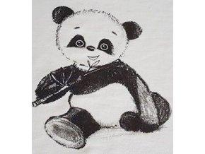 panda na ecru